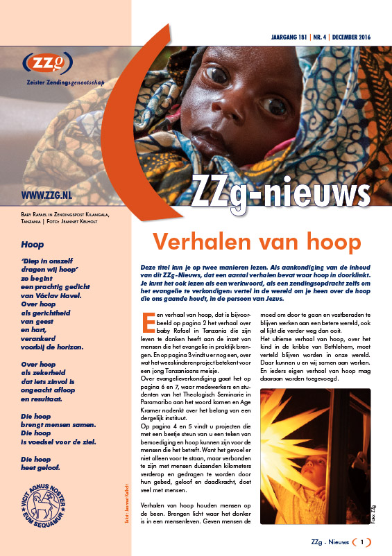 zzgnieuws 2016 4 cover